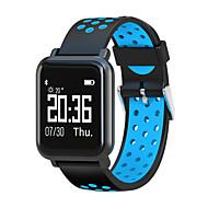 olcso -Intelligens Watch STSN60 mert Android 4.3 és újabb verziók / iOS 7 és újabb Szívritmus monitorizálás / Vérnyomásmérés / Elégetett kalória / Hosszú készenléti idő / Érintőképernyő Lépésszámlál