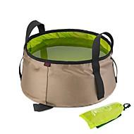 billiga Campingkök-Hopfällbar campinghink Tvättkorg Snabb tork / Viker Annat material Utomhus för Camping Orange / Grön / Blå