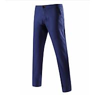 Férfi Alap Extra méret Pamut Kosztüm Nadrág Egyszínű / Munka