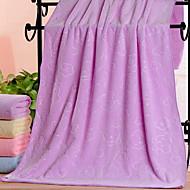 baratos Toalha de Banho-Qualidade superior Toalha de Banho, Floral Poliéster / Algodão 1 pcs