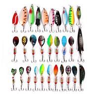 cheap Fishing-30pcs pcs Lure kits Metal Bait / Lure Packs / Spoons Metalic Sea Fishing / Bait Casting / Lure Fishing