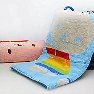 billiga Handdukar och badrockar-Överlägsen kvalitet Badhandduk, Tecknat Polyester / Bomull Blandning Vardagsrum 1 pcs
