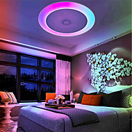 billige Taklamper-1pc 36W 408 LED Bluetooth høyttaler / Fjernkontroll / Mulighet for demping Taklys Varm hvit / Kjølig hvit / Naturlig hvit 110-240V Hjem /