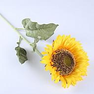 billige Kunstig Blomst-Kunstige blomster 1 Afdeling Rustikt Solsikke Gulvblomst