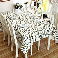 billige Bordduker-Moderne PVC / Bomull Kvadrat Duge Geometrisk Borddekorasjoner 2 pcs