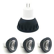 billige Innfelte LED-lys-ZDM® 4stk 4W 1 LED LED-spotpærer Varm hvit Kjølig hvit Naturlig hvit 110-120V 220-240V Kommersiell Hjem / kontor