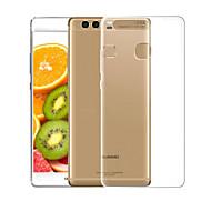billiga Mobil cases & Skärmskydd-fodral Till Huawei P10 Lite Genomskinlig Skal Enfärgad Mjukt TPU för P10 Lite