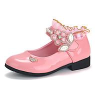 baratos Sapatos de Menina-Para Meninas Sapatos Courino Primavera Verão Conforto / Sapatos para Daminhas de Honra Rasos Caminhada para Infantil / Bébé Fúcsia /