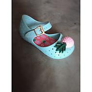 baratos Sapatos de Menina-Para Meninas Sapatos PVC Primavera Verão Conforto Tênis para Preto / Amêndoa / Verde Claro