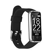 tanie Inteligentne zegarki-Inteligentne Bransoletka CB-601+ na iOS / Android Pulsometr / Pomiar ciśnienia krwi / Spalone kalorie / Długi czas czuwania / Ekran dotykowy Czasomierz / Krokomierz / Powiadamianie o połączeniu