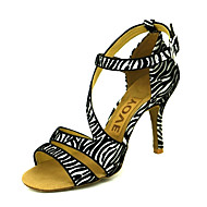 baratos Sapatilhas de Dança-Femininos personalizados Suede Alto Sapatos de dança