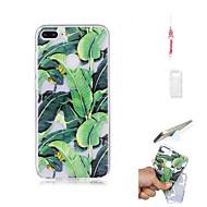 billiga Mobil cases & Skärmskydd-fodral Till Huawei Honor 9 Lite Genomskinlig Skal Växter Mjukt TPU för Huawei Honor 9 Lite