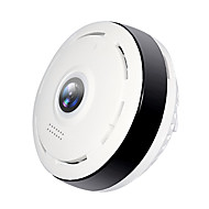 billige IP-kameraer-Hiseeu P6 1.3 mp IP-kamera Innendørs Brukerstøtte 64 GB / CMOS / Trådløs / Android / iPhone OS / Dag Nat