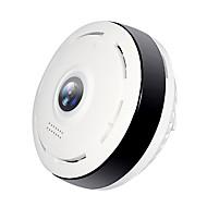 billige Innendørs IP Nettverkskameraer-Hiseeu P6 1.3 mp IP-kamera Innendørs Brukerstøtte 64 GB / CMOS / Trådløs / Android / iPhone OS / Dag Nat
