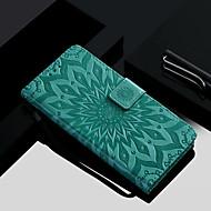 billiga Mobil cases & Skärmskydd-fodral Till Huawei Honor 10 / Honor 9 Plånbok / Korthållare / med stativ Fodral Blomma Hårt PU läder för Huawei Honor 10 / Honor 9 / Honor 8