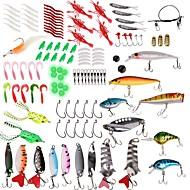 """billiga Fiske-Fiskeredskap Lådor Beteslåda Vattentålig / Lätt att bära 2 Brickor Kiselgel / Plast / Kolstål 20.5 cm*1 1/2"""" (4 cm)*4 cm"""