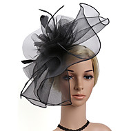 Women's Kentucky Derby Fashion Elegant Fabric Cubic Zirconia Head Jewelry-Solid Colored / Wedding / All Seasons