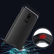 billiga Mobil cases & Skärmskydd-fodral Till OnePlus OnePlus 6 / OnePlus 5T Genomskinlig Skal Enfärgad Hårt Akrylfiber för OnePlus 6 / One Plus 5 / OnePlus 5T