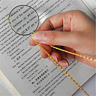 cheap -Metal / Mixed Material Gold / Silvery 1pc Magnifier