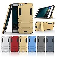 billiga Mobil cases & Skärmskydd-fodral Till Vivo X7 Plus / X7 med stativ Skal Enfärgad Hårt PC för Vivo X7 Plus / Vivo X7