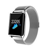 olcso -Intelligens karkötő YY- R11S mert Android 4.3 és újabb verziók / iOS 7 és újabb Szívritmus monitorizálás / Vérnyomásmérés / Elégetett kalória / Hosszú készenléti idő / Érintőképernyő Lépésszámlál
