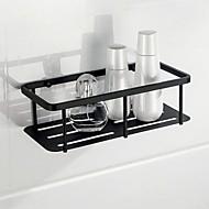 Χαμηλού Κόστους Ράφια Μπάνιου-Σετ αξεσουάρ μπάνιου / Ράφιι μπάνιου Νεό Σχέδιο / Δημιουργικό / Απίθανο Σύγχρονο / Πεπαλαιωμένο Ανοξείδωτο Ατσάλι 1pc - Μπάνιο Επιτοίχιες