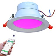 baratos Luzes LED de Encaixe-JIAWEN 1pç 9 W 48 Contas LED Espectro Completo Regulável Instalação Fácil Downlight de LED 110-240 V Sala de Estar / Jantar Corredor / Escadas
