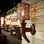 billige Vegglamper-Nytt Design / Kul Enkel / Moderne / Nutidig Vegglamper Stue / Soverom Tre / Bambus Vegglampe 220-240V 40 W / E27
