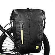 25 L Bolsa para bicicleta Ajustable Gran Capacidad Impermeable Bolsa para Bicicleta PVC Poliéster 1000D Bolsa para Bicicleta Bolsa de Ciclismo Ciclismo Bicicleta / Bandas Reflectantes