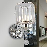 baratos -Cristal / Novo Design Moderno / Contemporâneo Luminárias de parede Sala de Estar / Quarto Metal Luz de parede 220-240V 40 W