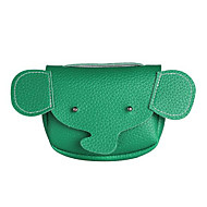 baratos Bolsas de Ombro-Mulheres Bolsas PU Bolsa de Ombro Botões Rosa / Verde Escuro / Marron