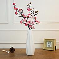 Umjetna Cvijeće 1 Podružnica Klasični Moderna Plum Cvjeće za stol