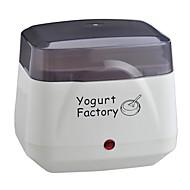 voordelige Keukenapparatuur-Yoghurt Maker Nieuw Design / Volautomatisch Roestvrij staal / ABS Yoghurt Machine 220 V 8 W Keukenapparaat