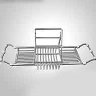 رخيصةأون -قضيب المسك / مخزن / أحواض الاستحمام تصميم جديد / قابل للنقل / متعددة الوظائف الحديثة / المعاصرة / موضة ستانلس ستيل 1PC حمام السلامة /