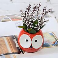 billige Kunstige blomster-Kunstige blomster 20 Gren Klassisk Tegneserie Blomme Bordblomst