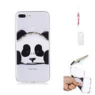 billiga Mobil cases & Skärmskydd-fodral Till Huawei Honor 9 Lite Genomskinlig Skal Panda Mjukt TPU för Huawei Honor 9 Lite