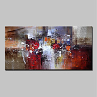 cheap Wall Art-Oil Painting Hand Painted - Abstract Modern Canvas