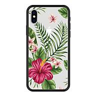 billiga Mobil cases & Skärmskydd-fodral Till Apple iPhone X / iPhone 8 Plus Mönster Skal Växter / Tecknat / Blomma Hårt Akrylfiber för iPhone X / iPhone 8 Plus / iPhone 8