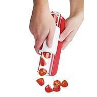 キッチンツール プラスチック 果物&野菜ツール マニュアル サラダツール / スライサー トマト / グレープ 1個
