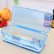 Χαμηλού Κόστους Βάζα & Κουτιά-Οργάνωση κουζίνας Αποθηκευτικά Κουτιά PP (Πολυπροπυλένιο) Εύκολο στη χρήση 1pc
