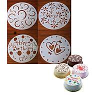 Ferramentas bakeware Plástico Criativo / Natal / Faça Você Mesmo Biscoito / Cupcake / Chocolate Moldes de bolos / Cortadores de Massa /