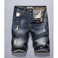 Herre Basale Jeans Bukser Ensfarvet