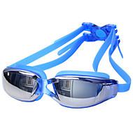 billiga Swim Goggles-Simglasögon Vattentät / Anti-Dimma / Anti-UV Legering Överdrag / PC Vit / Röd / Grå