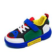 baratos Sapatos de Menina-Para Meninos / Para Meninas Sapatos Sintéticos Outono / Primavera Verão Conforto Tênis Caminhada Velcro para Infantil / Bébé Cinzento / Azul / Rosa claro / Botas Curtas / Ankle