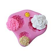 billige Bakeredskap-Bakeware verktøy Silikon Kreativ Kjøkken Gadget Kake / For Godteri Dessert dekoratører 1pc