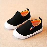 baratos Sapatos de Menina-Para Meninos / Para Meninas Sapatos Lona Primavera & Outono Conforto Rasos Elástico para Bébé Amarelo / Vermelho / Azul Claro