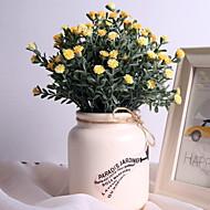 billige Kunstig Blomst-Kunstige blomster 1 Afdeling Klassisk / Enkel Rustikt Tusindfryd Bordblomst