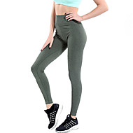 Dame Daglig Sports Legging - Ensfarvet Høj Talje