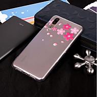 billiga Mobil cases & Skärmskydd-fodral Till Huawei P20 Pro / P20 lite IMD / Genomskinlig / Mönster Skal Blomma Mjukt TPU för Huawei P20 / Huawei P20 Pro / P10 Plus