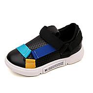 baratos Sapatos de Menino-Para Meninos Sapatos Com Transparência Outono & inverno Conforto Tênis Basquete Elástico para Adolescente Branco / Preto